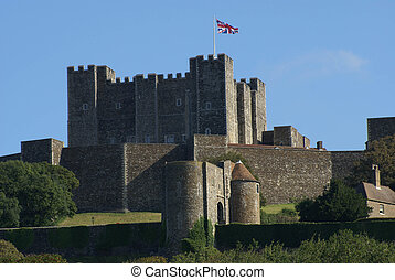Dover Castle, Kent, England - Dover Castle in Dover, Kent,...
