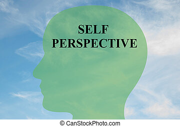Self Perspective concept