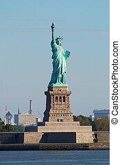 Statue of Liberty closeup, New York City