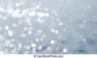 Abstract water bokeh in the river
