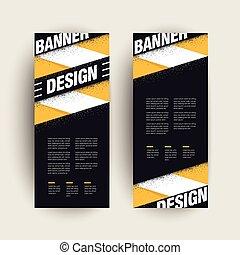 modern banner template