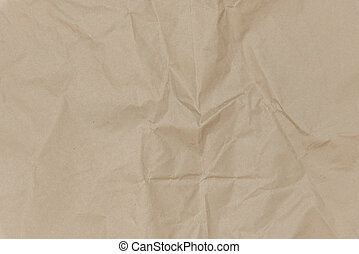 Crease of brown paper textures backgrounds