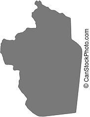 Map - Riyadh Saudi Arabia - Map of Riyadh, a province of...