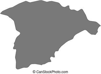 Map - Ha'il (Saudi Arabia)