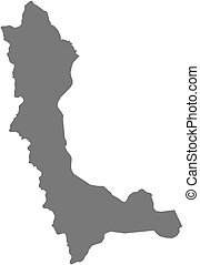 Map - West Azerbaijan - Map of West Azerbaijan, a province...