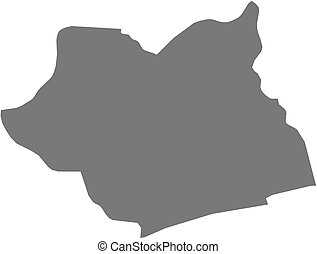 Map - Maritime Togo - Map of Maritime, a province of Togo