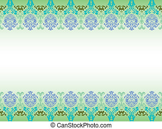 ornamental seamless design, abstract pattern; art...