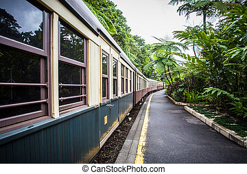 Kuranda Train Station - The iconic Kuranda train station in...