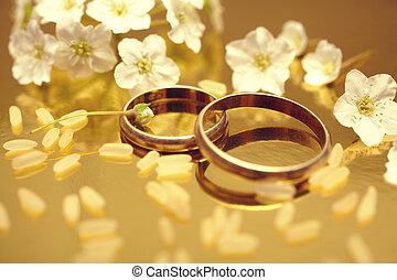 Wedding rings - Gold wedding rings