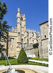 Cathedral of Saint Just et Saint Pasteur Narbonne France -...