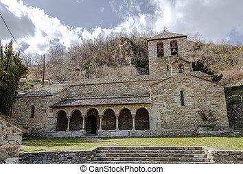 Parish Church of Sant Jaume de Queralbs - Romanesque Parish...