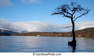 Timelapse of Loch Tay, Scotland - Timelapse of Loch Tay in...