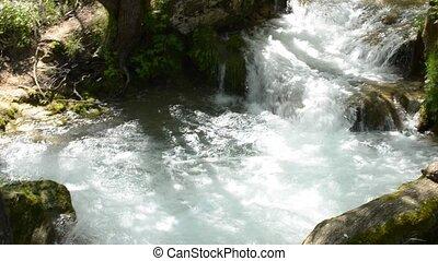 Gostilje River on Zlatibor Mountain - Gostilje river on...