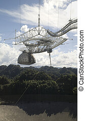 Arecibo Radio Telescope - This is a photograph of the radio...
