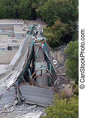 35W Bridge Collapse - Photo of 35W bridge in Minneapolis...