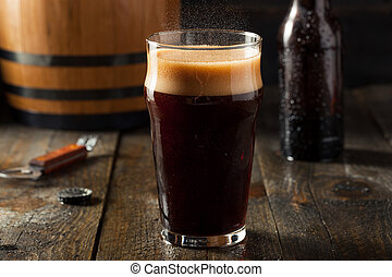 Refreshing Cold Alcoholic Hard Root Beer Ready to Drink