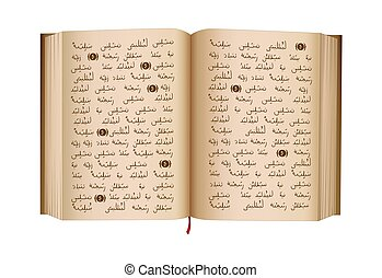 Quran - is a Holy Book of Islamic religion. Islamic...
