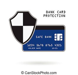 bank card protection - bank credit card security financial...