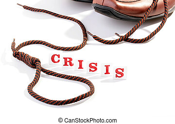 Financial crisis - Creative on a theme of a consequence of...