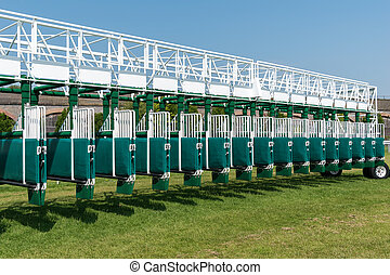 Horse racing starting gates - Horse racing starting gate