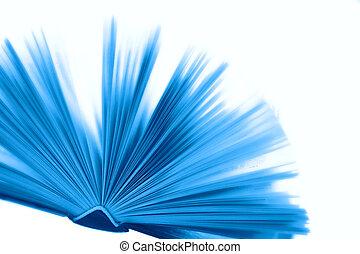 azul, livro