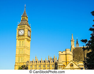 Houses of Parliament HDR - High dynamic range HDR Houses of...