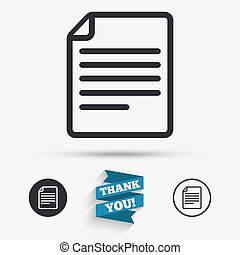 File document icon Download doc button Doc file symbol Flat...