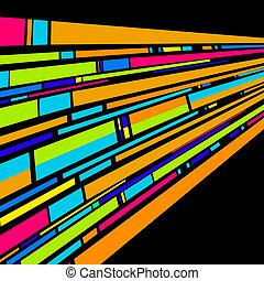 Stripes background illustration, abstract art
