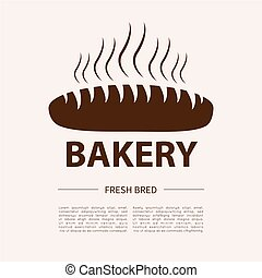 Bakery logotype. Bakery or bred shop vintage design element....