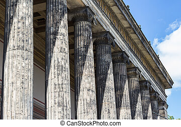 German Old Museum on Museum Island, Mitte. Berlin - Altes...
