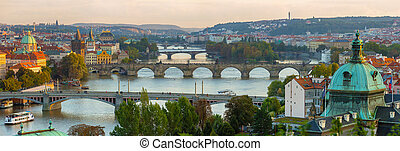 Bridges of the Vltava River, Prague