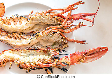 Lobster grilled
