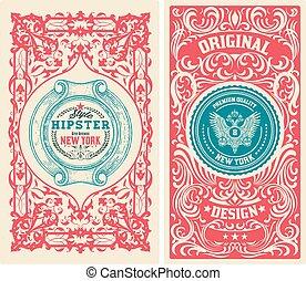 Set of Old card
