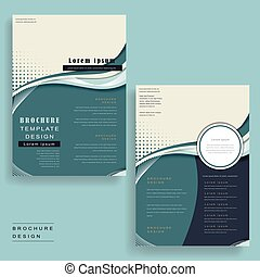 streamline design brochure - brochure template with...