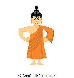 Angry Buddha furious Indian god wrathful Supreme teacher for...