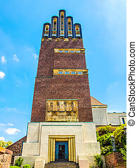 Wedding Tower in Darmstadt HDR - High dynamic range HDR...
