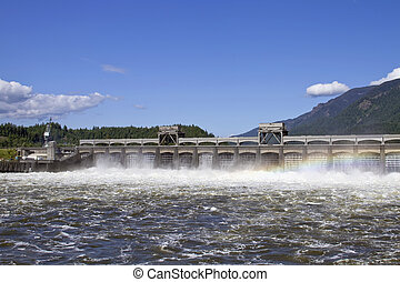 Historic Bonneville Dam 2 - Historic Bonneville Dam in...