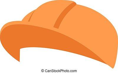 Construction helmet illustration - Construction helmet...