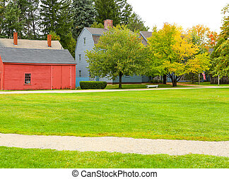 PORTSMOUTH, NH, USA - September 30, 2012: Strawbery Banke is...