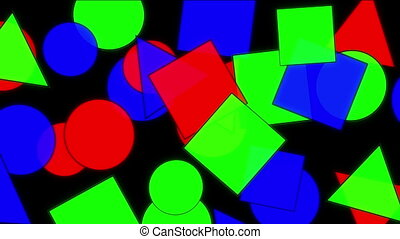 geometric figures abstract