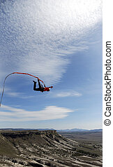 rope jumping - Jump with a rope