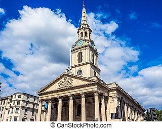 St Martin church in London HDR