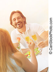 Mature man dating - Vacations and dating concepts. Toned...