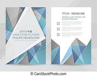 Flyer design A4 size - Flyer design A4 size cover brochure...