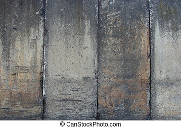 ranked ranged dirty heavily worn industrial large vertical...