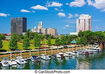 Augusta, Georgia Skyline - Augusta, Georgia, USA downtown...