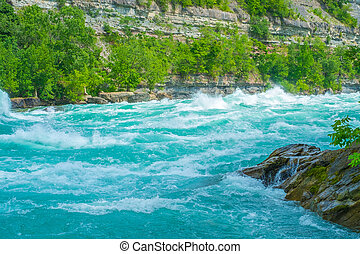 Whirlpool Rapids Niagara River - The shear power and beauty...