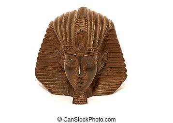 Egypt  -  statue of the pharaoh of Egypt
