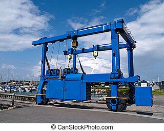 Boat lifter crane