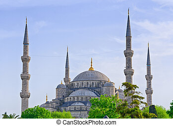 Sultan Ahmed Mosque in Istanbul. Turkey